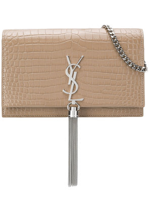 Saint Laurent Kate tassel bag - Nude & Neutrals