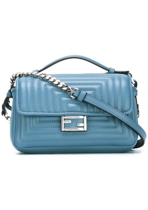 Fendi micro 'Double Baguette' crossbody bag - Blue