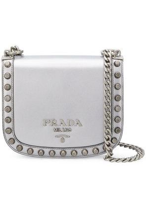 Prada Pionnière cross-body bag - Grey