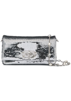 Miu Miu sequin crossbody - Metallic