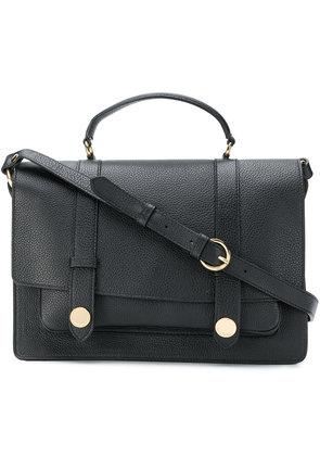 L'Autre Chose pebbled satchel - Black