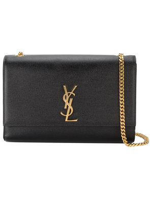 Saint Laurent large Black Kate monogram shoulder bag
