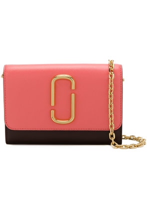 Marc Jacobs Snapshot chain wallet - Pink & Purple
