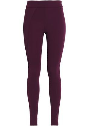 No Ka 'oi Woman Stretch Leggings Burgundy Size 1