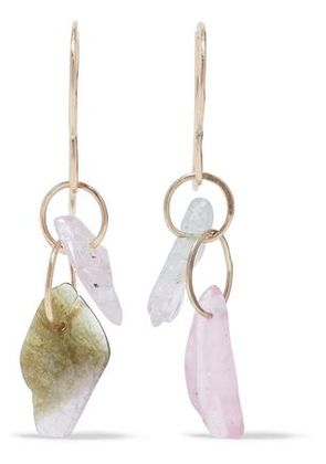 Melissa Joy Manning Woman 14-karat Gold Tourmaline Earrings Gold Size -