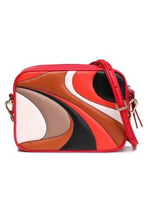 Emilio Pucci Woman Quilted Leather Shoulder Bag Red Size -