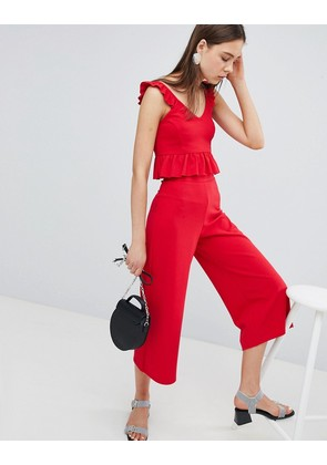 New Look Wide Leg Culottes - Bright red