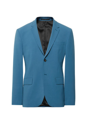 Blue Reading Stretch-twill Suit Jacket