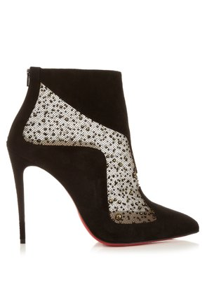 Papillo 125 suede ankle boots