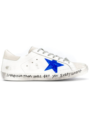 Golden Goose Deluxe Brand Star skate sneakers - White