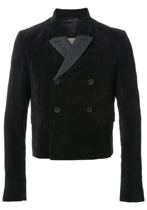 Rick Owens double breasted jacket - Black