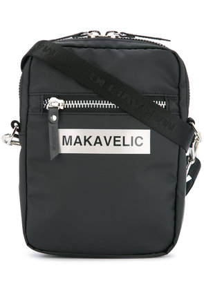 Makavelic Ludus box logo pouch bag - Black