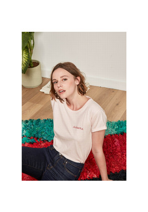 Awesome Cotton Tee - Heather Pink