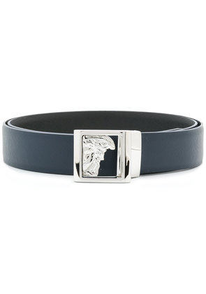 Versace Collection Medusa head belt - Blue