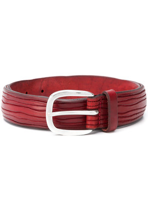 Orciani buckle belt - Red