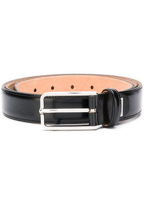 Corneliani classic buckle belt - Black