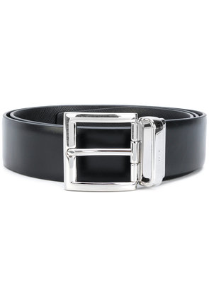 Prada square buckle belt - Black