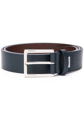 Corneliani classic buckle belt - Blue