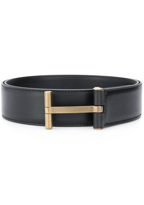 Tom Ford logo buckle belt - Black