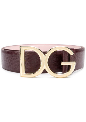 Dolce & Gabbana buckle belt - Pink & Purple