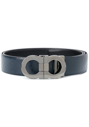 Salvatore Ferragamo double Gancio belt - Blue