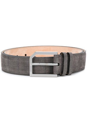 Jimmy Choo Albie denim belt - Grey