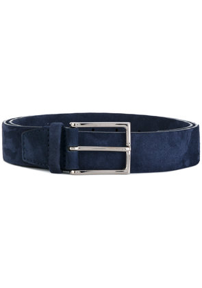 Orciani thin buckle belt - Blue