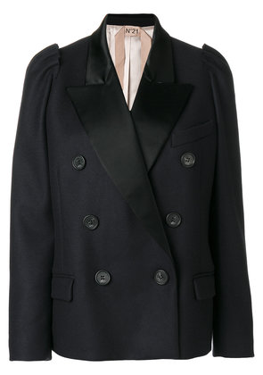 No21 double breasted blazer - Blue