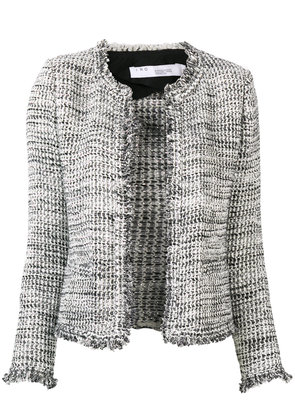 Iro knitted fitted jacket - Grey