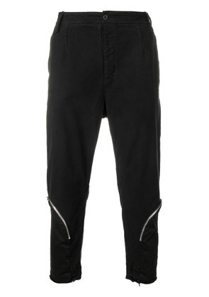 Lost & Found Rooms loose cropped trousers - Black