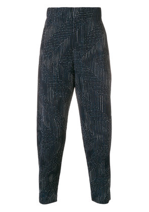 Homme Plissé Issey Miyake pleated trousers - Blue