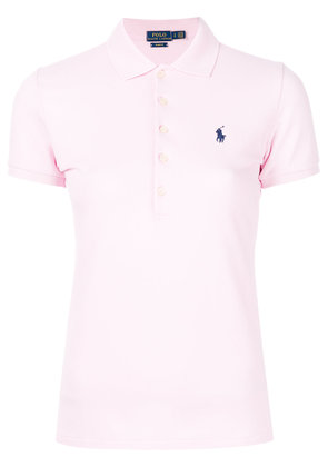 Polo Ralph Lauren slim-fit polo shirt - Pink & Purple