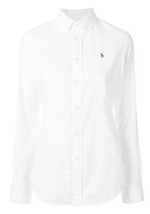 Polo Ralph Lauren button down slim-fit shirt - White