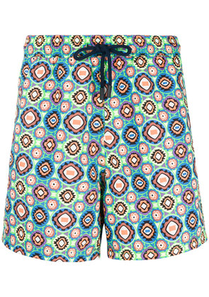 Etro geometric print swim shorts - Multicolour