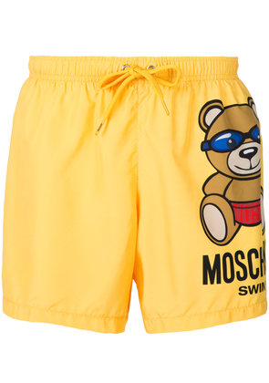 Moschino Moschino Swim shorts - Yellow & Orange