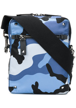 Valentino camouflage cross-body bag - Blue