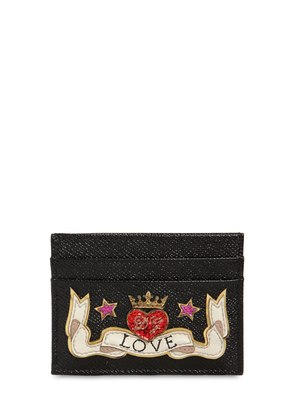 LOVE LEATHER CARD HOLDER