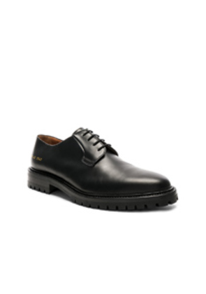 Common Projects Leather Derby in Black