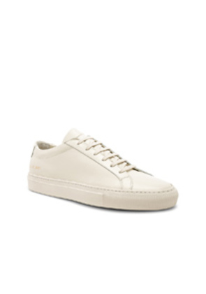 Common Projects Original Leather Achilles Low in White