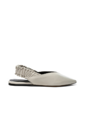 Isabel Marant Leather Linta Flats in White