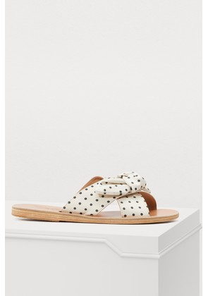 Thais sandals with bow