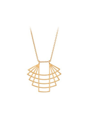 Trace Necklace - Gold