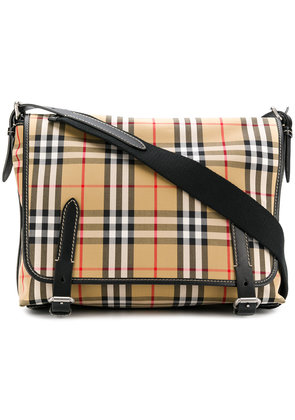 Burberry checked foldover bag - Nude & Neutrals