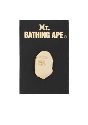 Mr. Bathing Ape Ape Head Pin
