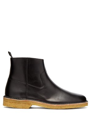 Timothe leather boots