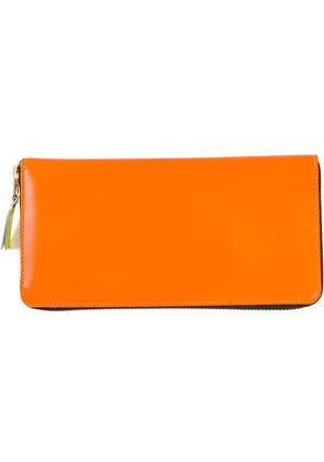 Comme Des Garçons Wallet 'New Super Fluo' wallet - Yellow & Orange