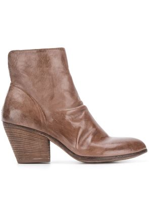 Officine Creative Jacqueline ankle boots - Brown