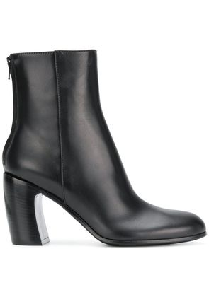 Ann Demeulemeester back zip ankle boot - Black