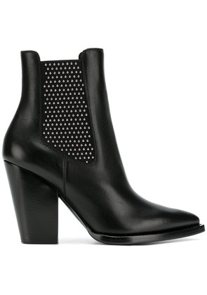 Saint Laurent microstud Theo boots - Black