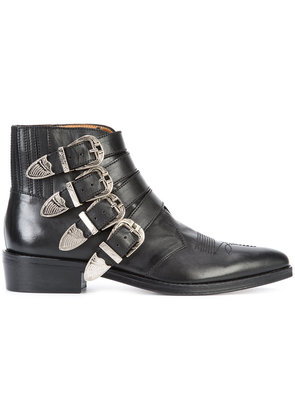 Toga buckled boots - Black